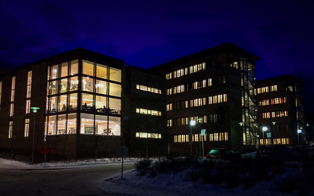 Teorifagbygget at the University of Tromsø - The Arctic University of Norway