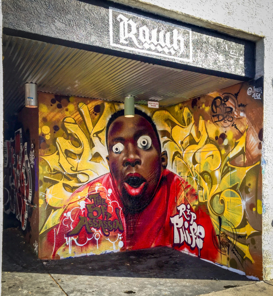 Phife Dawg tribute mural