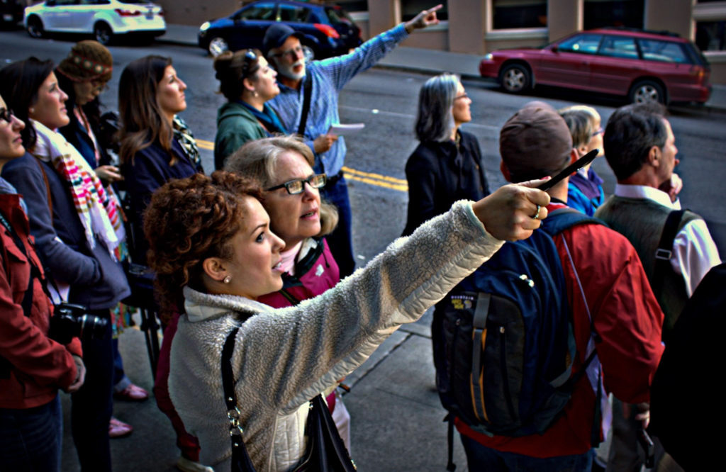 On the streets with a Seattle Architecture Foundation tour