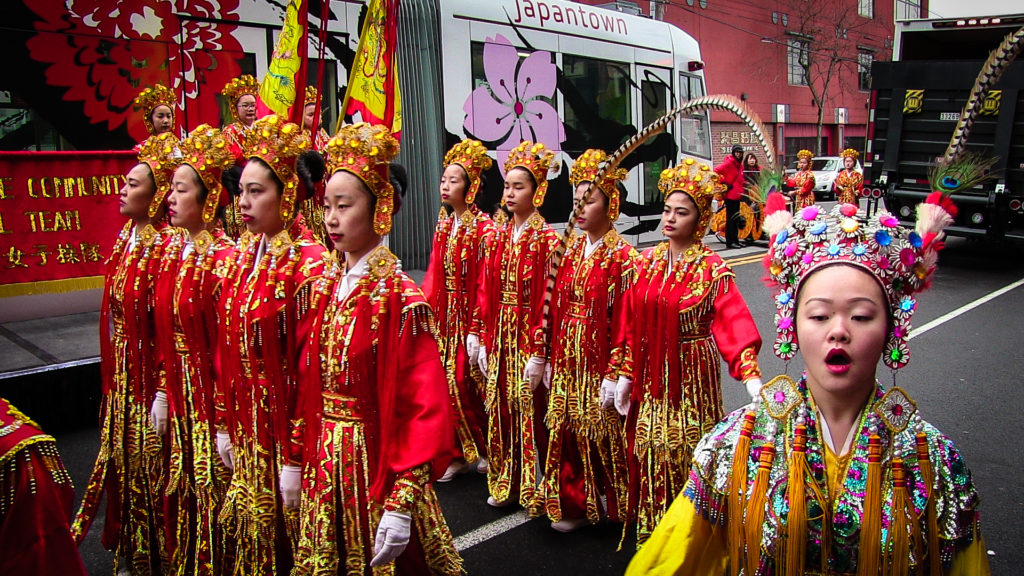 Seattle Chinese Community Girls Drill Team