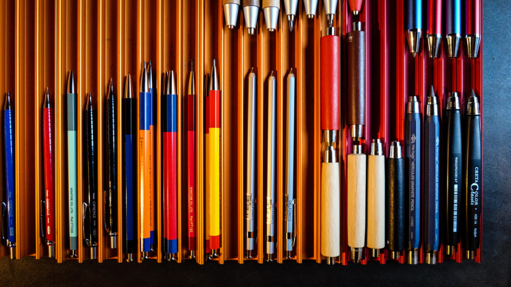 Mechanical pencils at Peter Miller Books + Supplies